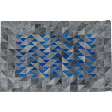 Tapis Triangle gris 170x240