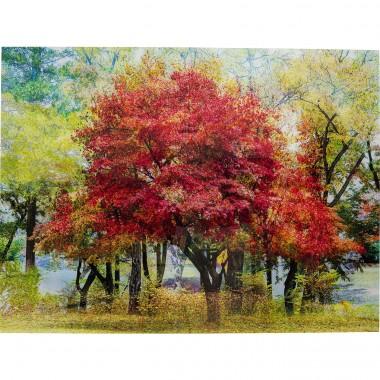 Quadro de Vidro Autumn 160x120cm