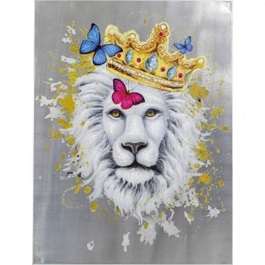 Tela a Óleo King of Lion 120x90cm-52572 (6)