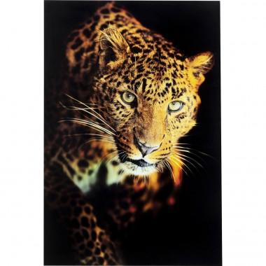 Quadro de Vidro Leopard Shaka 120x80cm