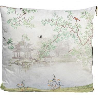Almofada Chinese Garden White 45x45cm