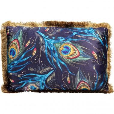 Almofada Peacock Feather Blue 40x60cm