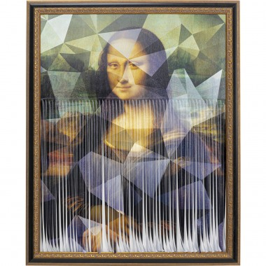 Pintura a Óleo Mademoiselle Lisa 163x130cm