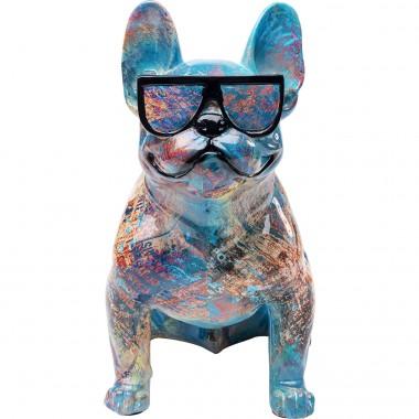 Peça Decorativa Dog of Sunglass