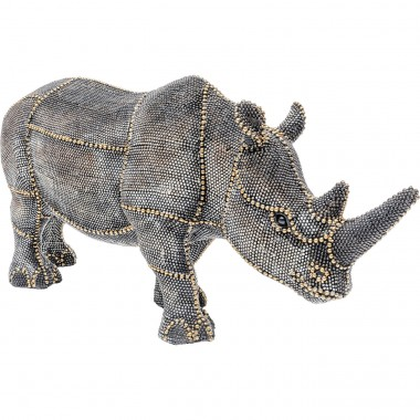 Objeto Decorativo Rhino Rivets Pearls 18cm
