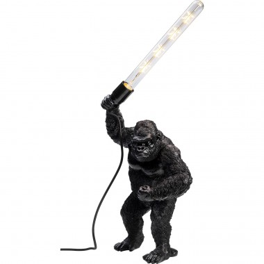 Lampe à poser Animal Fighting Kong noir mat