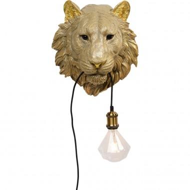 Applique Animal Tiger Head