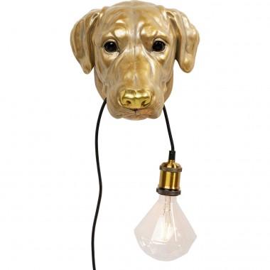 Candeeiro de Parede Dog Head