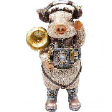 Figurine décorative Pig Musician