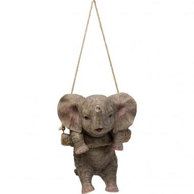 Objeto Decorativo Swinging Elephant