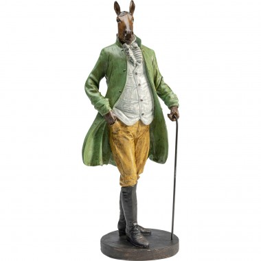 Peça Decorativa Sir Horse Standing