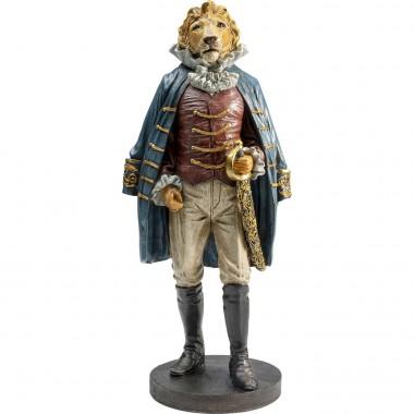 Peça Decorativa Sir Lion Standing