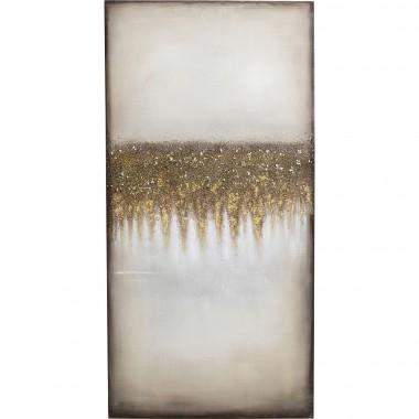 Tela Acrílica Abstract Fields 200x100cm