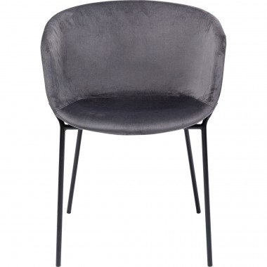 Cadeira com braços Raja Cinzento