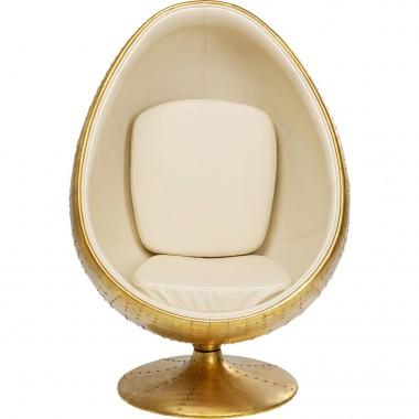 Cadeira Giratória Eye Ball Latão