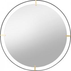 Espelho Betsy Moldura Metalizado 90Ø