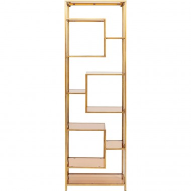 Estante Loft Dourado 195x60cm