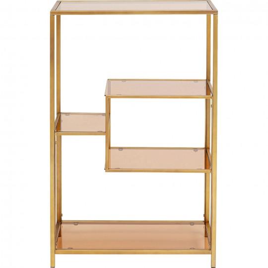 Estante Loft Dourado 100x60cm