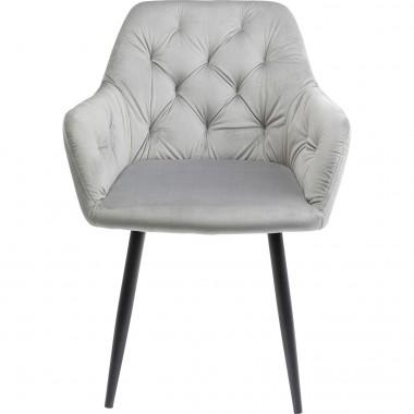 Cadeira com braços Kira Cinzento