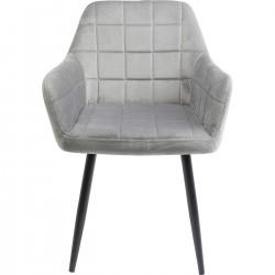 Cadeira com braços Kim Cinzento