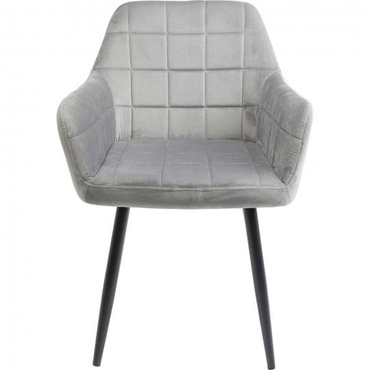 Chaise a./acc. Kim gris