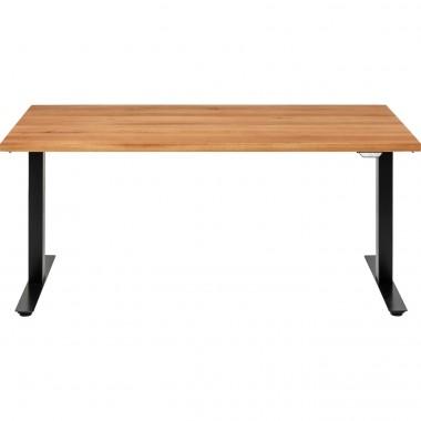 Table Office Jackie chêne noir 160x80
