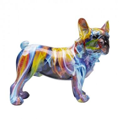 Estatueta decorativa Frenchie Colorful