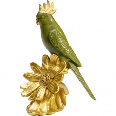 Peça decorativa Flower Parrot