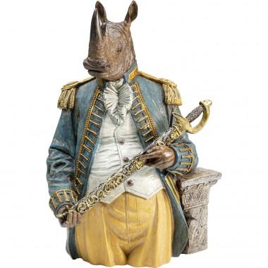 Peça decorativa Angry Sir Rhino
