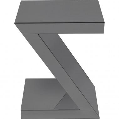 Mesa de apoio Luxury Z Grey 45x33cm