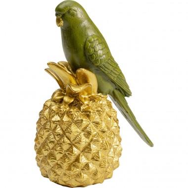 Peça decorativa Ananas Parrot