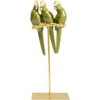 Peça decorativa Parrot Friends