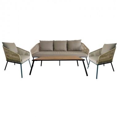 Conjunto de sofás Elba (4 peças)