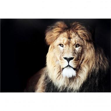 Quadro de vidro King of Lion 150x100cm