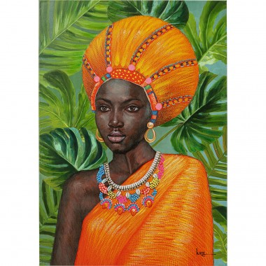 Quadro em tela African Beauty 70x100cm