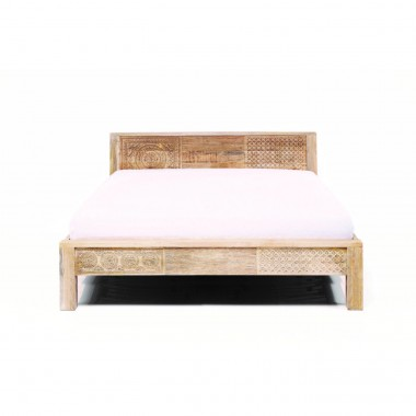 Cama de madeira Puro High 160x200cm
