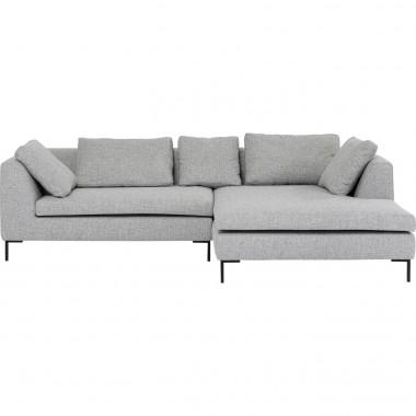 Corner Sofa Gianni Dolce Light Grey Right