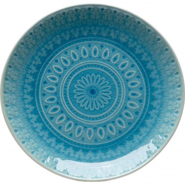 Assiette Sicilia bleu Ø21