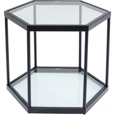 Mesa de centro Comb Preta 45cm