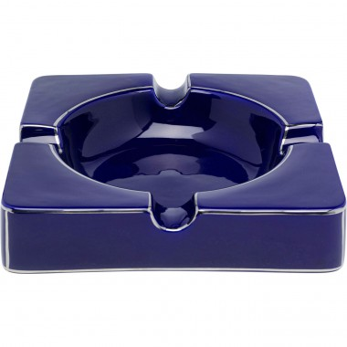 Cendrier Symmetric bleu