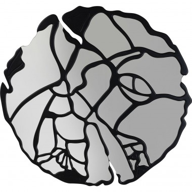 Espelho de Parede Pieces Preto Mate Ø100cm