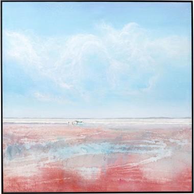 Quadro Red Sea 100x100cm