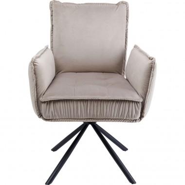 Cadeira de braços Chelsea Cinzenta