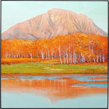 Quadro Autumnal 120x120cm
