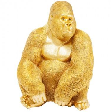 Peça Decorativa Monkey Gorilla Side XL Gold-61445 (11)