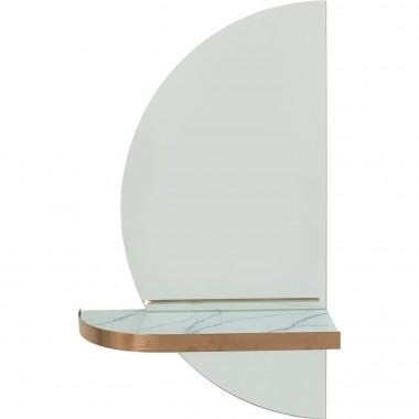 Espelho de parede Half Moon 45x75cm