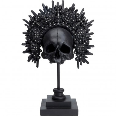 Peça decorativa King Skull Black