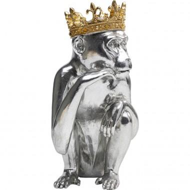 Peça decorativa King Lui Silver 35cm