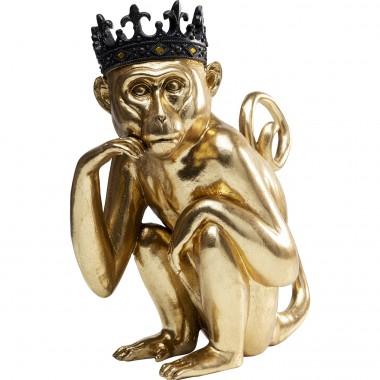 Peça decorativa King Lui Gold 35cm