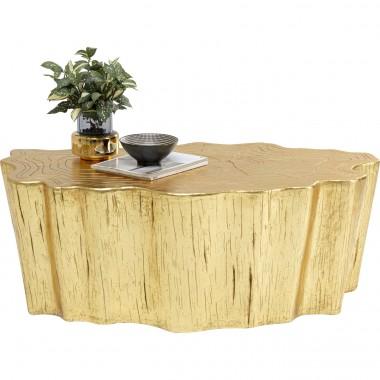 Mesa de centro Tree Stump Gold 119x68cm